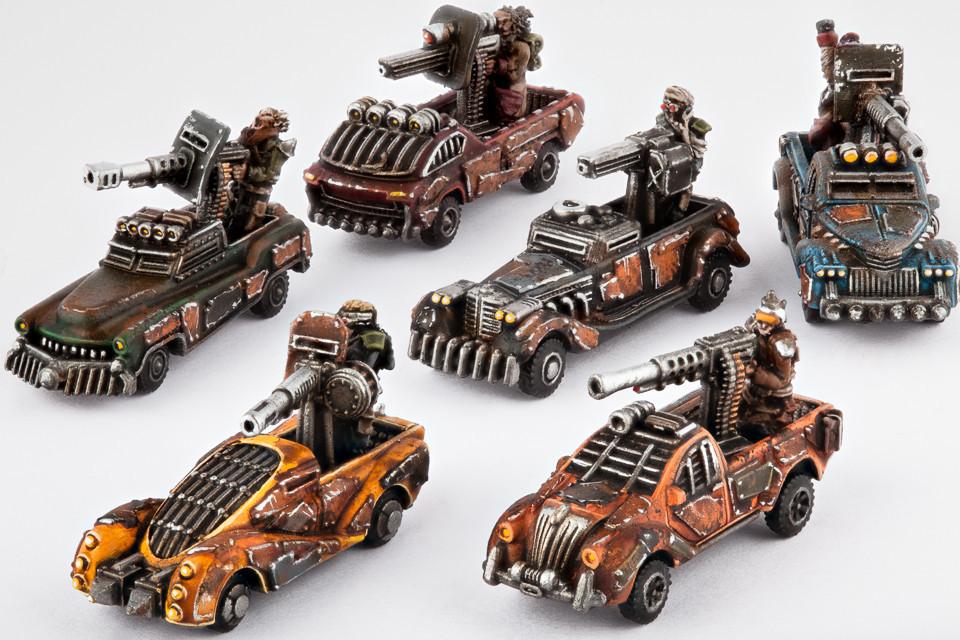 Resistance Fahrzeuge Gun Technical