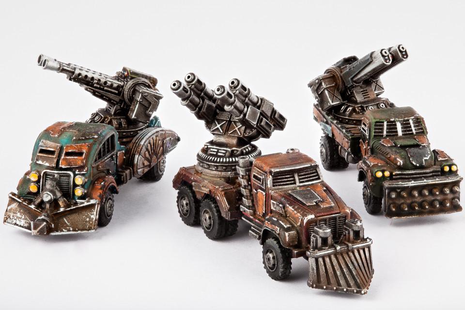 Resistance Fahrzeuge Gun Wagon
