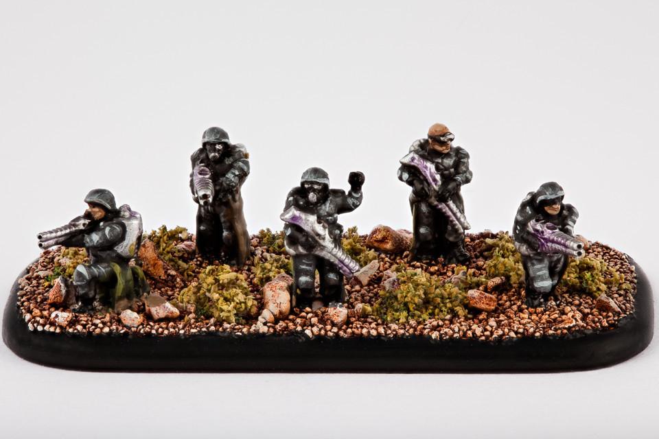 Resistance Infanterie Veteranen des Widerstands