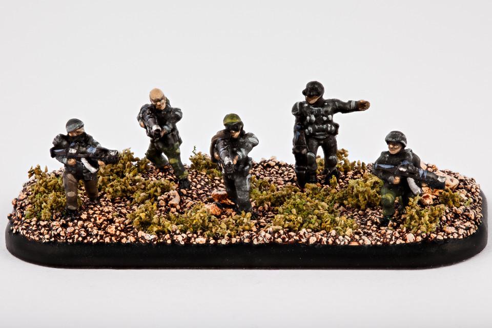 Resistance Infanterie Widerstandskämpfer
