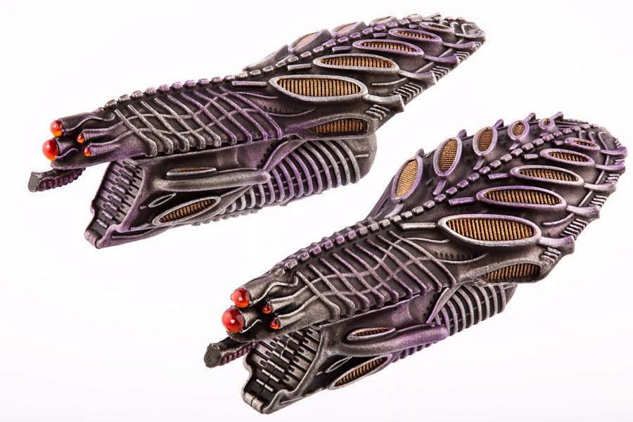 Scourge Landungsschiffe Intruder Alpha leichtes Landungsschiff