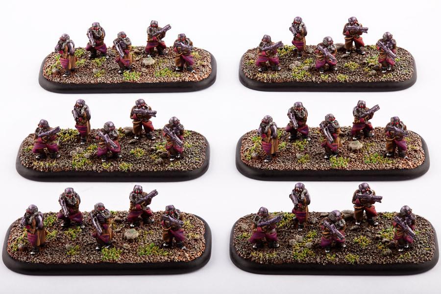 Scourge Infanterie Krieger
