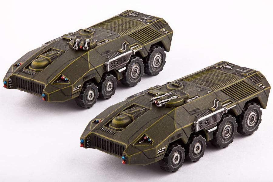UCM Fahrzeuge Bear APC's