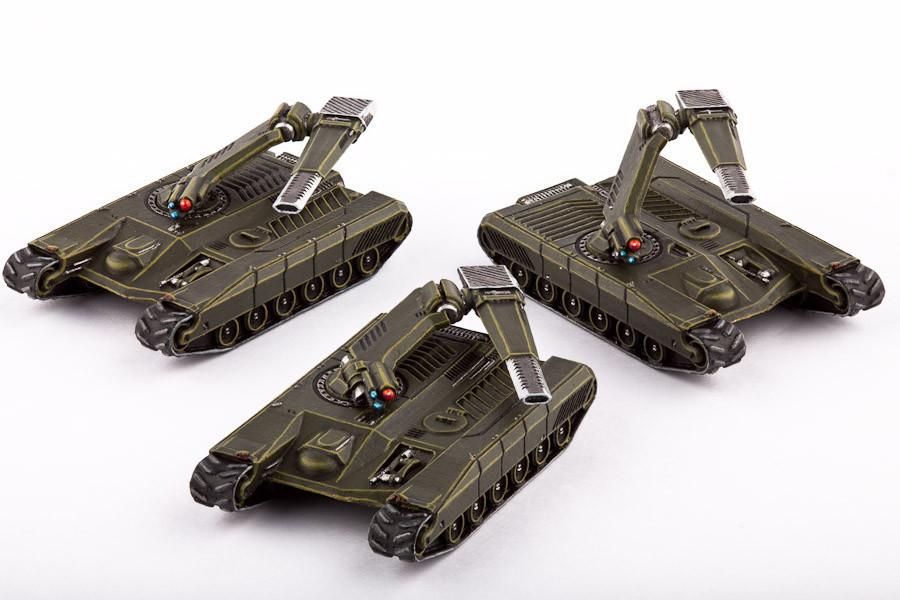 UCM Fahrzeuge Sabre Main Battle Tanks