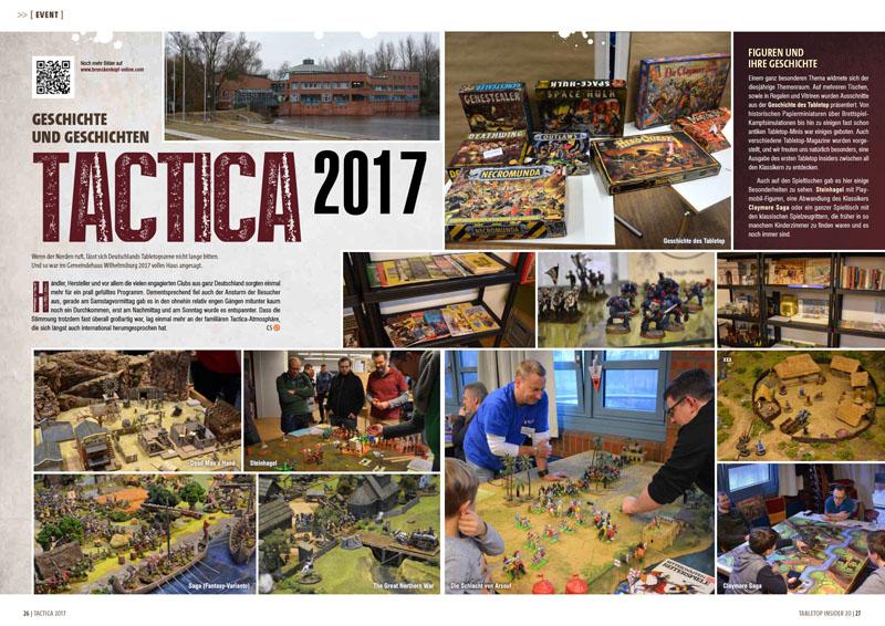 Tabletop Insider 20 - Tactica 2017