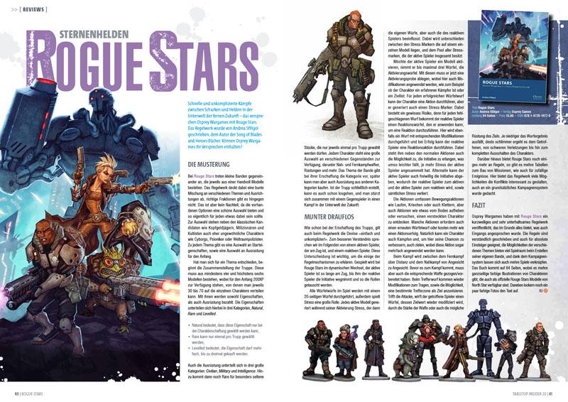 Tabletop Insider 20 - Rogue Stars