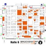 SPIEL Hallenplan Brückenkopf Halle 6